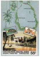 (PH 111) Map Of Cocos Islands - Landkarten