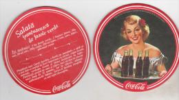 Romanian Coca Cola Coaster - Coasters
