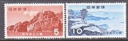 Japan  624-5  *  PARKS - Unused Stamps