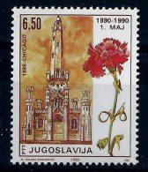 Yugoslavia 1990: Centenary Of Labour Day (1st Of May). MNH(**) - 1945-1992 Repubblica Socialista Federale Di Jugoslavia