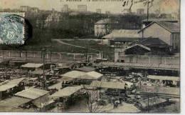 CPA 92 PUTEAUX LE MARCHE, LES COTEAUX 1905 - Puteaux