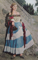 MEXICAN NATIONAL DRESS - 12 CARDS - Mexico