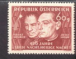Österreich 928 Josef Mohr Und Franz X. Gruber  MNH Postfrisch ** - 1945-.... 2. Republik
