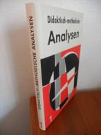 Didaktisch - Methodische. Analysen (Vol 1) De 1970 - Livres, BD, Revues