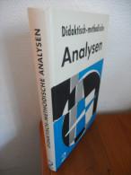 Didaktisch - Methodische. Analysen (Vol 2) De 1972 - Livres, BD, Revues