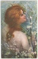 G. GUERZONI - Femme - Fleurs - 2752-1 - Autres Illustrateurs