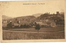 CPA 26 BOURDEAUX JOLIE VUE GENERALE - Frankreich