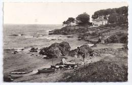 CPSM Photo St Aygulf 83 Var Plage Du Pébrier édit Mar N°2389 écrite Timbrée 1945 - Saint-Aygulf