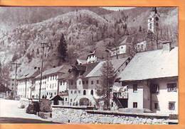 Slovenia 1965 Y Traveled Postcard Kropa Street View - Slovenia
