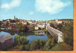 Slovenia 196x Y Traveled Postcard Novo Mesto Panoramic View - Slovenia