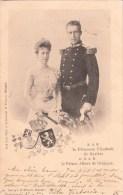 S.A.R. La Princesse Elisabeth De Bavière Et S.A.R. Le Prince Albert De Belgique - 1900 - Royal Families
