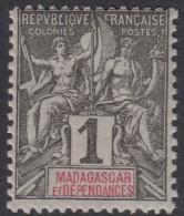 N° 28 - X - - Madagascar (1889-1960)