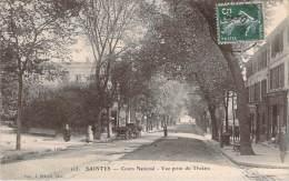 17 - Saintes - Cours National, Vue Prise Du Théâtre - Saintes