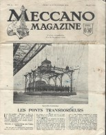 Méccano Magazine /Volume II N°7/ Les Ponts Transbordeurs/Hornby/1925    JE100 - Toy Memorabilia