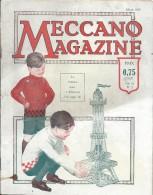 M�ccano Magazine /Volume 6 N�3/ Le Tunnel sous la Manche /Hornby/1929    JE101