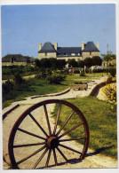 TREGLONOU --- Manoir De Trouzilit à L' Aber Benoit--petite Animation (gites,golf,roue Charrette),cpm N° 0012 éd Combier - France