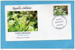 Enveloppe Illustrée FDC-  Mai 1988  N°A 258-Plante Médicinales -rauvolfia Sevenetii- - Briefe U. Dokumente