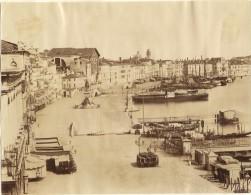 FOTO - VENEZIA (Veneto) - Riva Degli Schiavoni (animata Con Nave E Barche) - Naya (?) No. 165 - Luoghi
