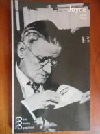 James Joyce In Selbstzeugnissen Und Bildokumenten (Jean Paris) N° 40 / Rowohlt - Biographies & Mémoires