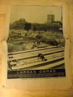 PERIODICO LA VANGUARDIA 1972 OBRAS DE METRO EN UNIVERSIDAD - Revistas & Periódicos