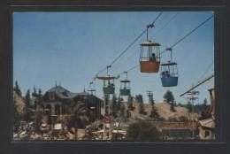 """Skyway Ride"" Ed. Micro-Krome. Circulada 1958 + Tasa 6 Cent. - Disneyland"