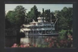 """Steaming Through The Wilderness...""  Al Dorso ""0111-0350"".  Nueva. - Disneyland"