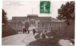 Cpa 1907, SAINT DENIS, (S.StDenis)  Fort De LA BRICHE,  Belles Dames Et Beaux Soldats (40.87)) - Edificio & Architettura