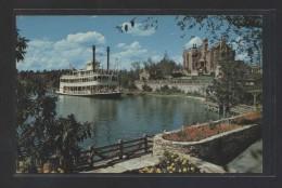 """Cruising The Rivers Of America...""  Escrita. - Disneyworld"