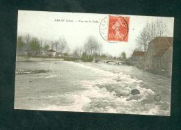 Arlay  (39) - Vue Sur La Seille ( Colorisée Ed. Mme Latapie ) - Autres Communes