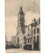 CPA-56-1914-VANNES-EGLISE SAINT-PATERN-ANIMEE-PERSONNAGES-ATTELAGES-DEBIT DE BOISSONS- - Vannes