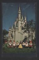"""""""Cinderella Castle...""""  Circulada 1976. - Disneyworld"""