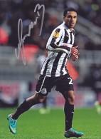 DEDICACE Autographe Football De Sylvain MARVEAUX (France) Jouait à Rennes De 2006 à 2011 Joue à Newcastle Depuis 2011 - Handtekening