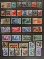 ITALIA Repubblica-1945-50- Lotto 39 Francobolli MH* (descrizione) - Lotti E Collezioni