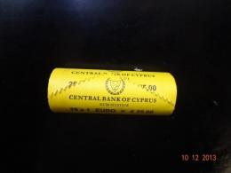 Cyprus 2013 1 Euro Roll UNC - Chypre