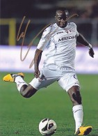 DEDICACE Autographe Football De MOMO SISSOKO (Mali) A Joué Au PSG Et à Fiorentina Joue à LEVANTE (Espagne) Depuis 2014 - Handtekening