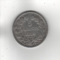 - 5 Francs, Louis Philippe, 1835 W - France