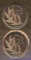 20 Frank 1992 Frans+vlaams * Uit Muntenset * FDC - 07. 20 Francs