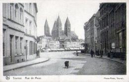 Tournai : Rue De Maux - Carte Animée (1923) - Doornik