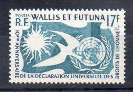 Wallis Et Futuna   N°160  Neuf Sans Charniere - Wallis-Et-Futuna