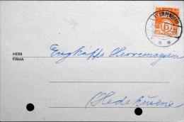 Danmark  1949 Letter Cards Klampenborg (parti 538) - Danimarca