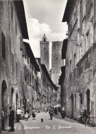 Italie - Città Di San Gimignano - Via S. Giovanni - Cartes Postales - Siena