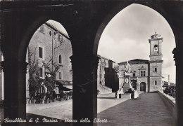 Saint-Marin - Repubblica Di San Marino - Piazza Della Liberta - Saint-Marin