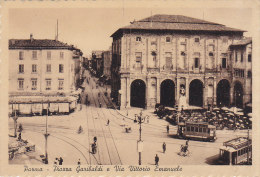 Italie -  Parma - Piazza Garibaldi E Via Vittorio Emanuele -  Tramway - Parma
