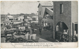 Delivering Milk At A Victorian Butter Factory Fromagerie Beurrerie - Australie