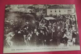 Cp Chastel  La Foire Du 8 Decembre Les Marchands Etalagistes - Autres Communes