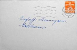 Danmark  1950 Letter Cards 11-4-1950 ODENSE   (parti 2950) - Danemark