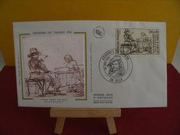 FDC- Journée Du Timbre 1983, Rembrandt - 59 Lille - 26.2.1983 - 1er Jour, - FDC