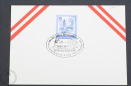 Austria Train/ Railway Topic Postmarks - 1983 - 10 Jahre Club 598 - Trains