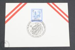 Austria Train/ Railway Topic Postmarks - 1982 - 75 Jahre Mariazellerbahn - 3100 St. Pölten - Trains