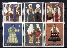 Jugoslavia 1964 Unif. 982/87 **/MNH VF - 1945-1992 République Fédérative Populaire De Yougoslavie